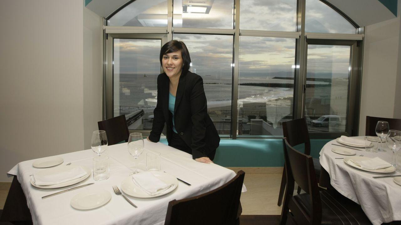 Primer tráiler oficial de «Viveiro no tempo».Noelia Fraga, en imagen de archivo, gerente del hotel y el restaurante Nordés