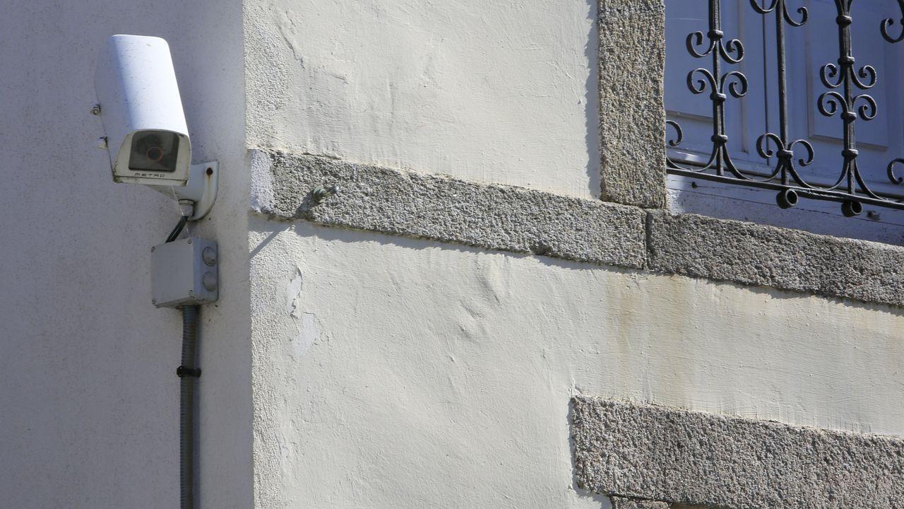 Las cámaras están situadas en la Praza de Santa María, Doutor Castro y la Rúa Nova