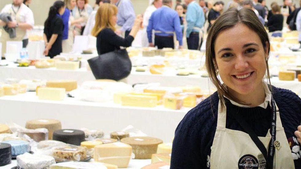 Carmen Ordiz, la gourmet asturiana de los quesos.Los alumnos asturianos de los planes bilingüen consiguen mejores resultados