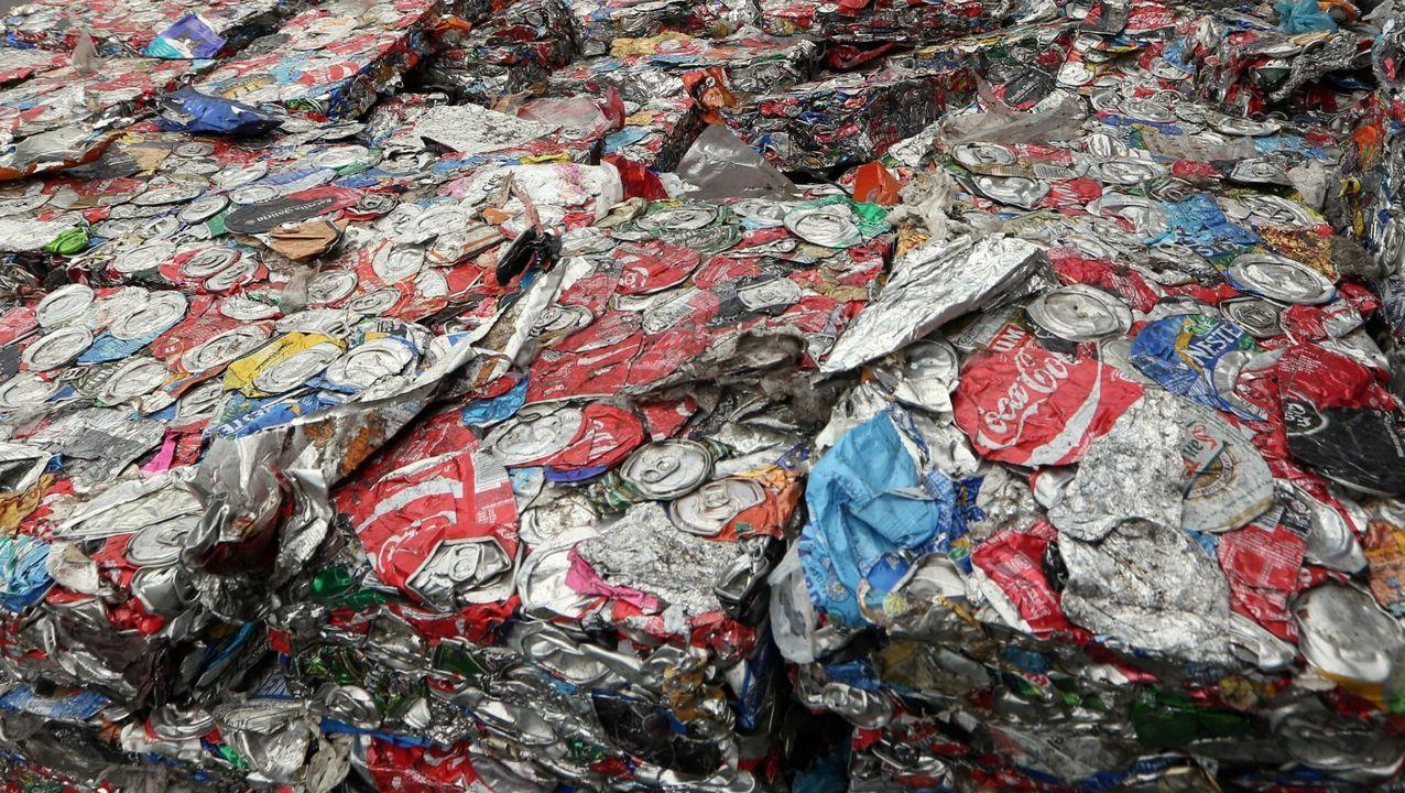 Barbanza despide el curso más atípico.La separación de residuos doméstica inicia la cadena de reciclaje