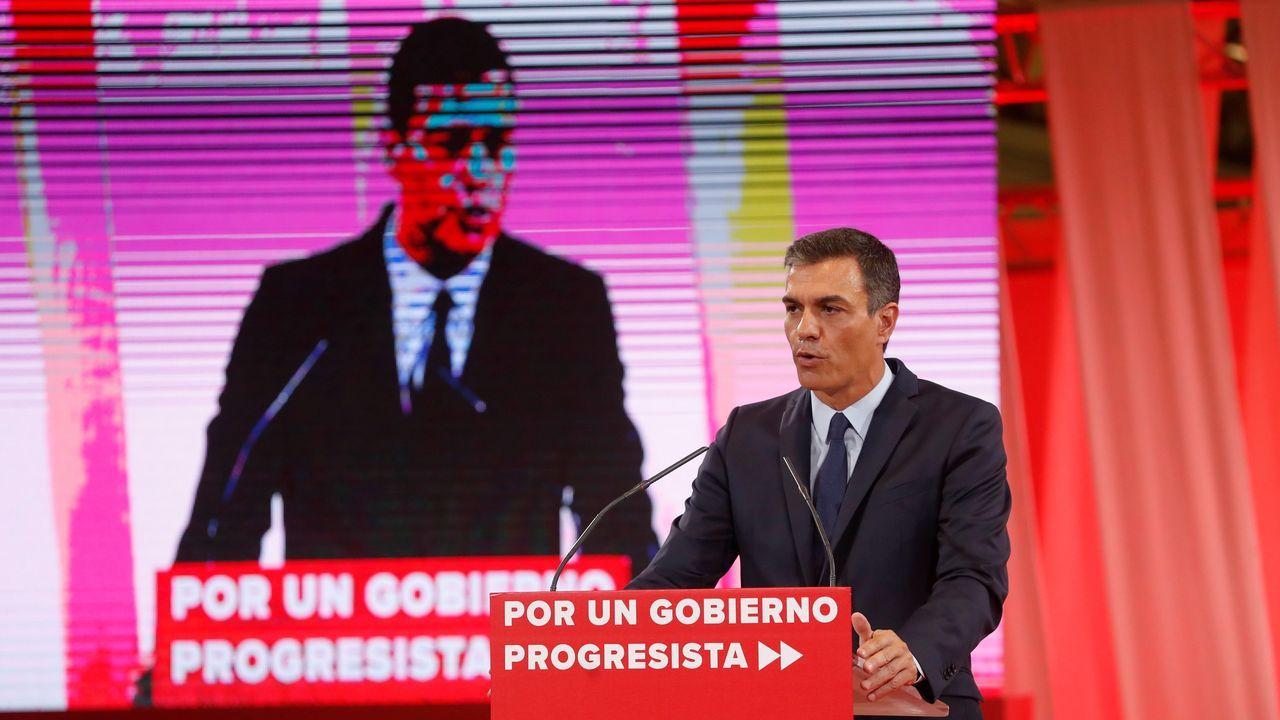 Sánchez ofrece a Podemos una oficina de control del acuerdo de Gobierno.Imagen de la última Conferencia de Presidentes (2017), donde el problema demografico fue uno de los asuntos principales
