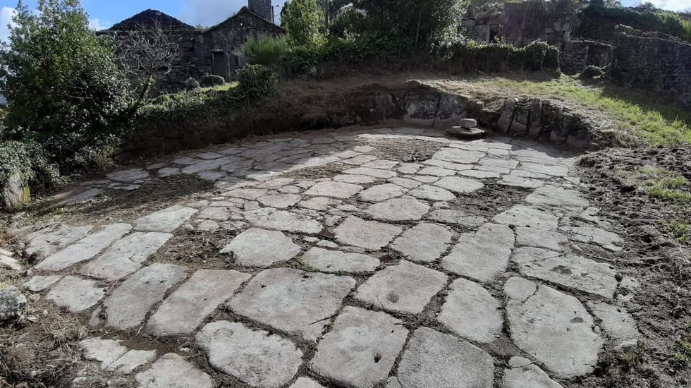 Eira de Ana da Canleira, en Berdoias