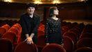 Entrevista a Amaral en el Teatro Rosalía