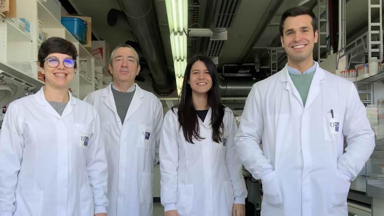 Laboratorio de la Universidad de Oviedo.La investigación pone de relieve las ventajas del uso del bagazo para el cuidado de la viña y la calidad del vino