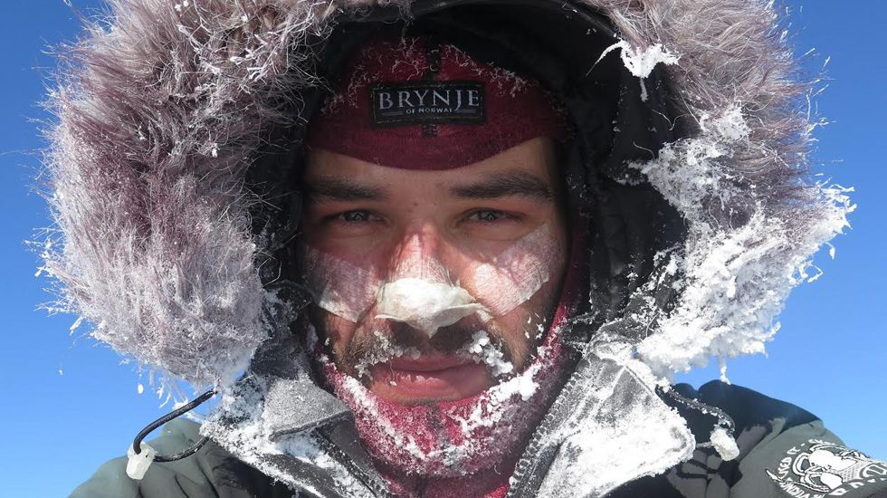 «Juan Sin Miedo», un asturiano contra el clima de Mongolia.El empresario asturiano Roberto Fernández Montes, que ha aparecido muerto en Argentina