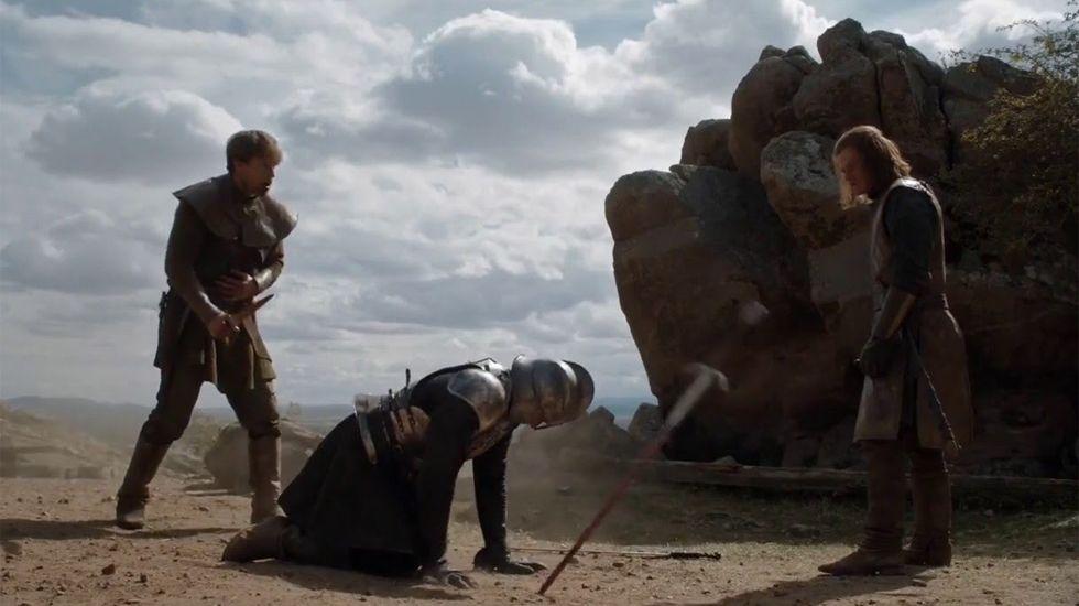 Howland Reed salva a Ned Stark de una muerte segura