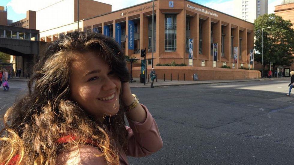 Elsa Roldán estudia canto en Glasgow