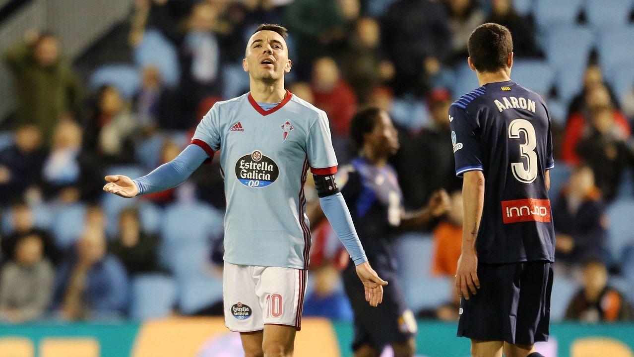 267 - Celta-Espanyol (2-2) de Primera el 11 de febfero del 2018