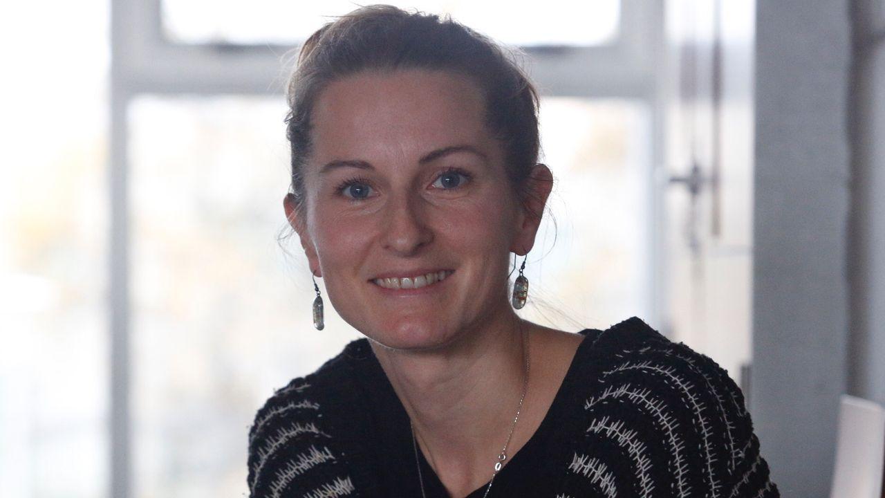 «Cocina de abordo»: las mejores recetas con calamar presentadas por Pereira.Nina Sefcik, eslovaca, está afincada en A Coruña desde hace un año y medio