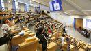 Clase en una facultad de Ourense este segundo cuatrimestre