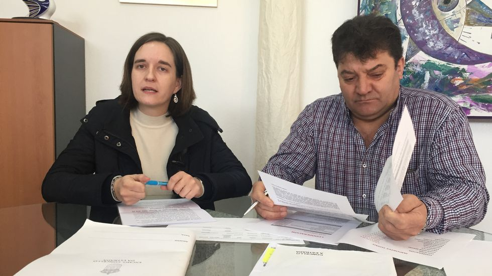 El exconsejero Industria del Principado Graciano Torre (d) durante su comparecencia en la Junta General ante la comisión parlamentaria que investiga los cursos de formación de UGT