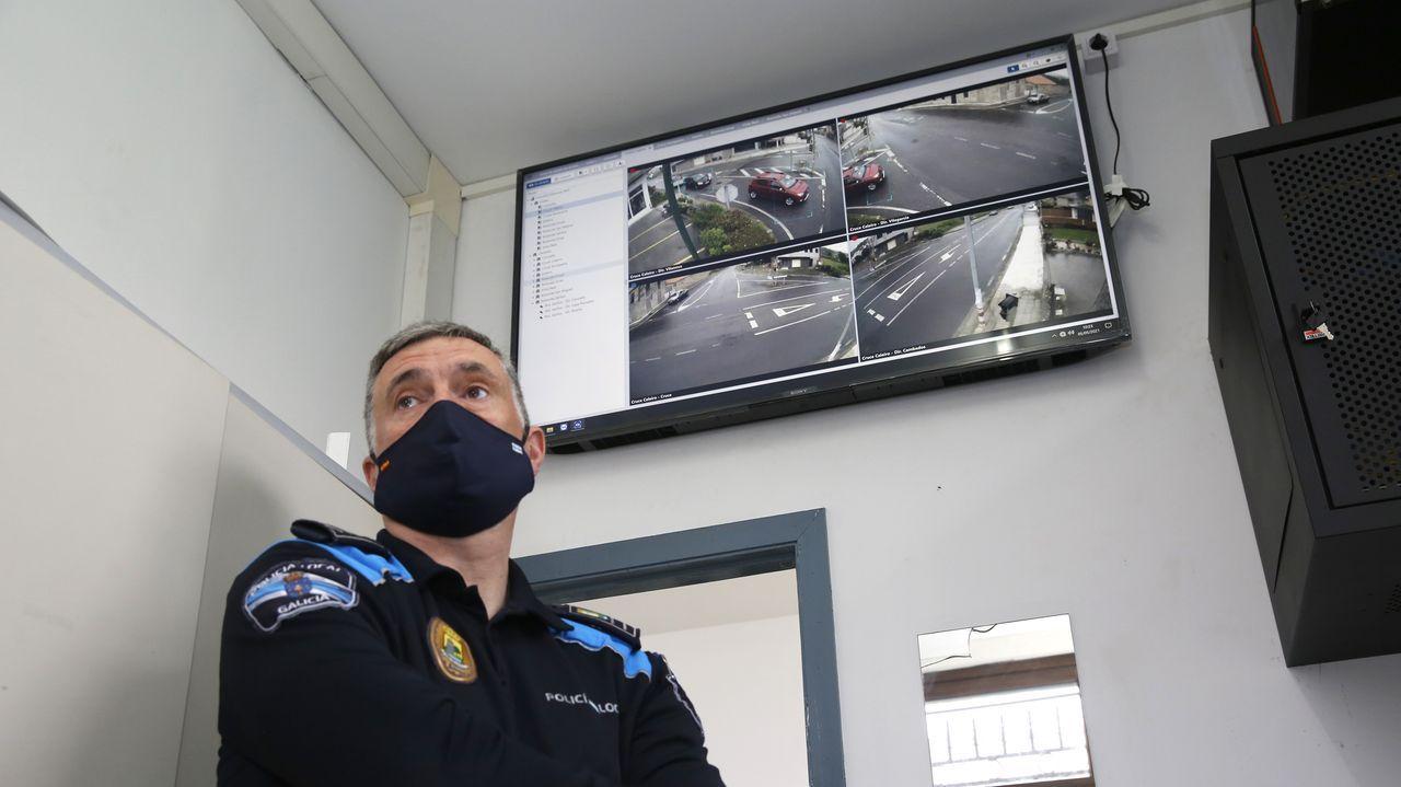 El concello de Vilanova instala cámaras de seguridad vial