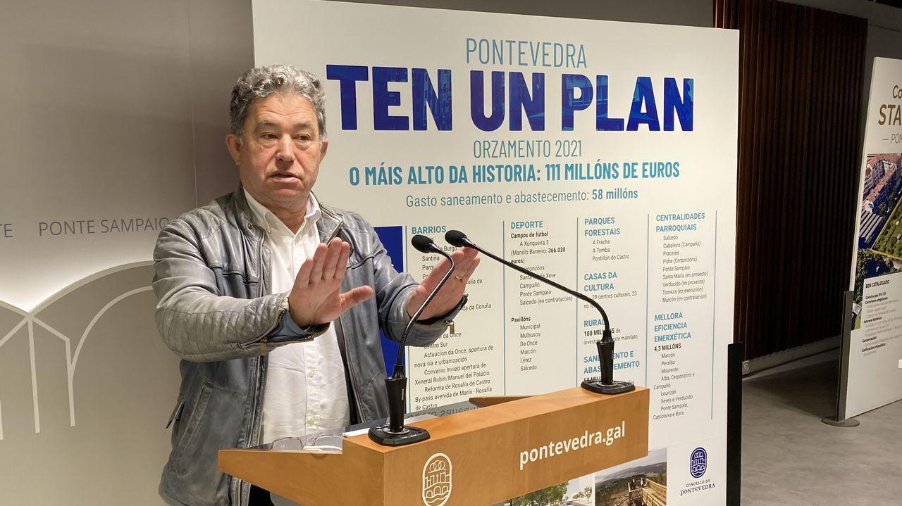 Miguel Anxo Fernández Lores (BNG), alcalde de Pontevedra