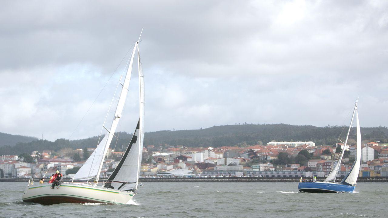 Vista puerto zona San Diego Coruña