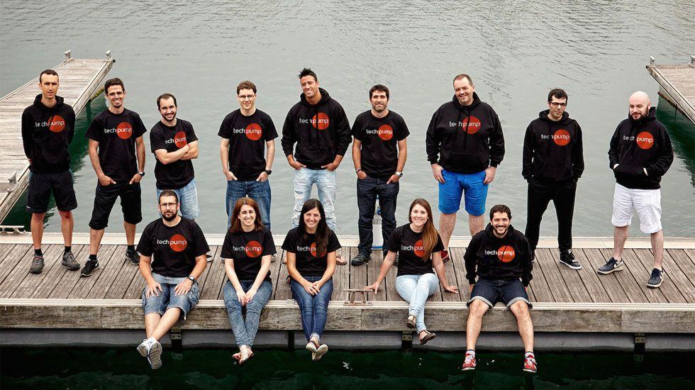 Las oficinas gijonesas de TechPump.Pablo Isla