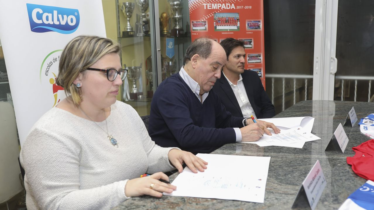 Galicia busca protagonismo en la Liga.Chano Planas, Xochitl Lagarda y Manuel Planas