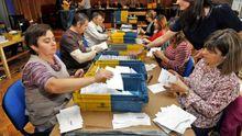Recuento de voto emigrante en las autonómicas del 2012
