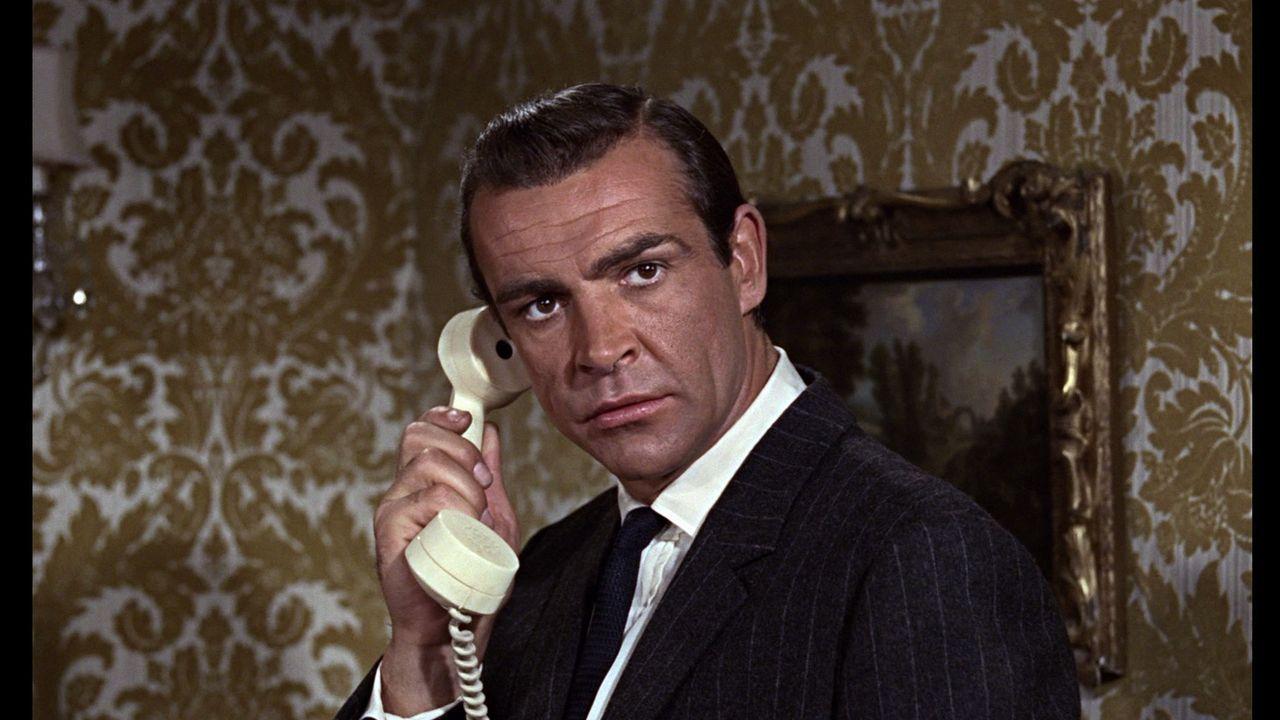 Sean Connery, en una de sus películas