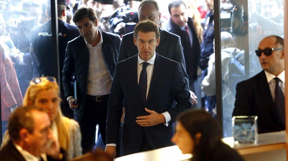 Rubén, a la izquierda de la imagen, es quien está ahora al frente del negocio que abrió su padre Antonio hace medio siglo.