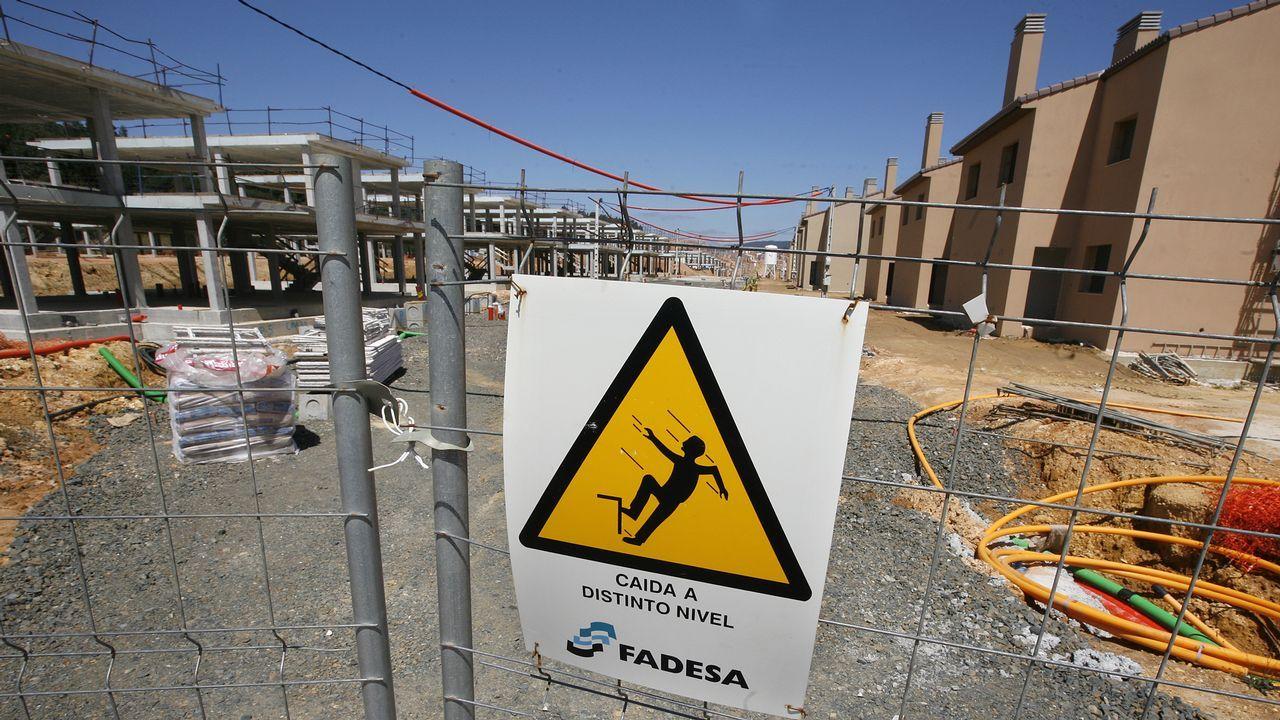 Cerca de un 4% de los activos de la liquidación de Martinsa-Fadesa se ubican en Galicia, principalmente en Costa Miño y O Pino