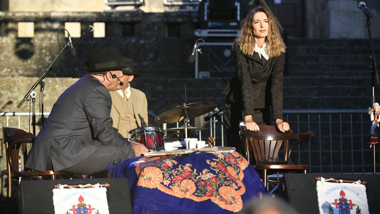 El Concello organiza en la terraza del Auditorio el espectáculo del grupo Sincronacidas, que arrasó en el 2019 en la MIT de Ribadavia