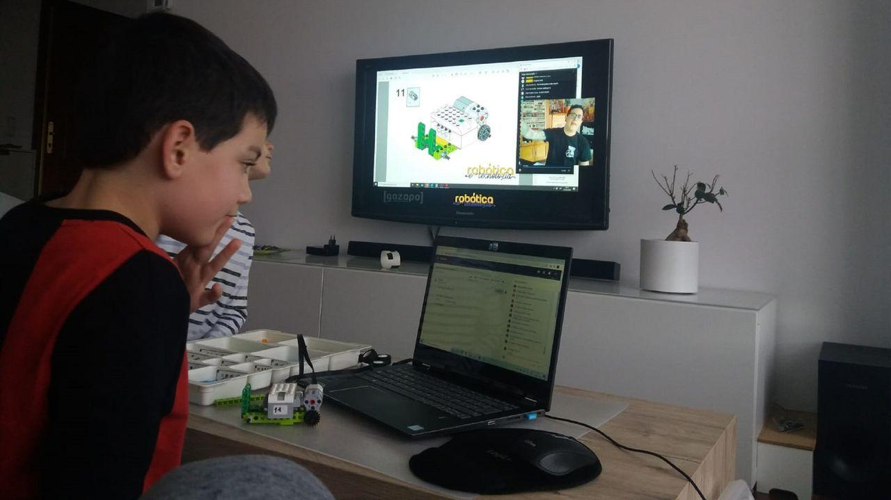 Empresas como Gazapos ofrece clases virtuales a los alumnos de las actividades que hasta ahora eran presenciales
