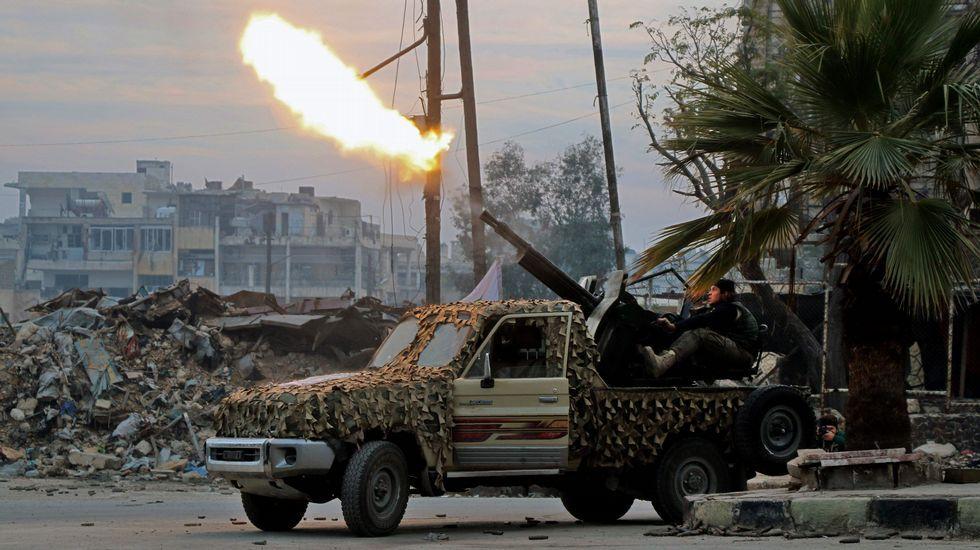 La batalla de Alepo, en imágenes