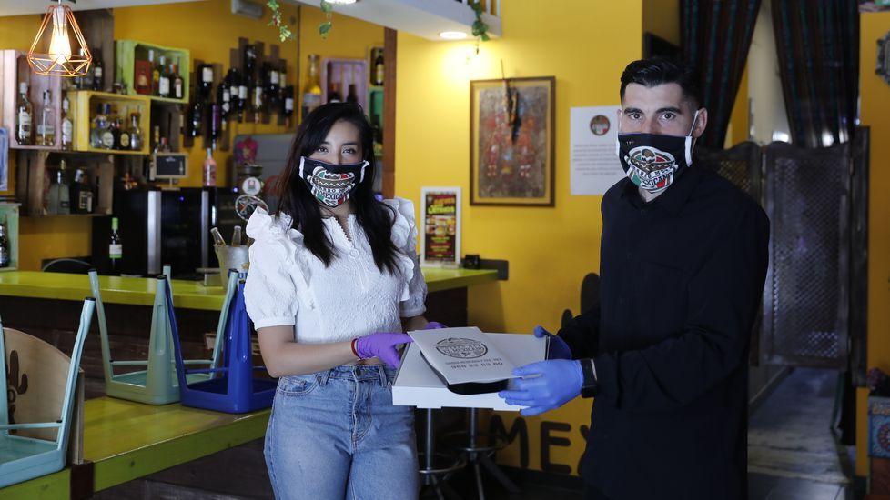 Carla Quintela y Álex Fernández son los propietarios de Charro Mex