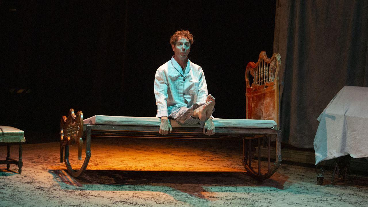 El pulpo reina en el San Froilán.«Déjà vu», de la Compañía Manolo Alcántara, inauguró la programación de sala del festival.