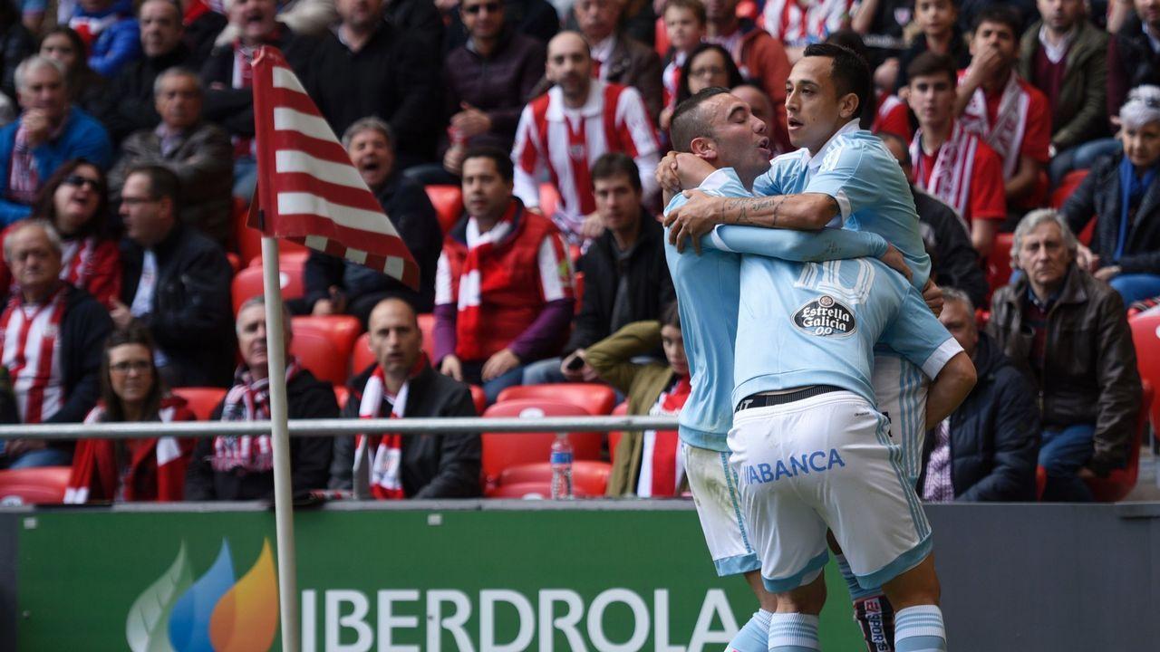 191 - Athletic-Celta (2-1) de Primera el 1 de mayo del 2016