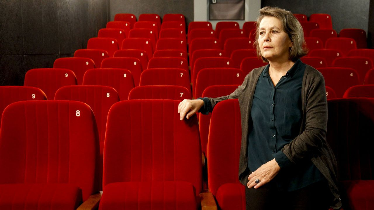 Gomes asistió en Santiago al estreno en España de «A Portuguesa», su octava película