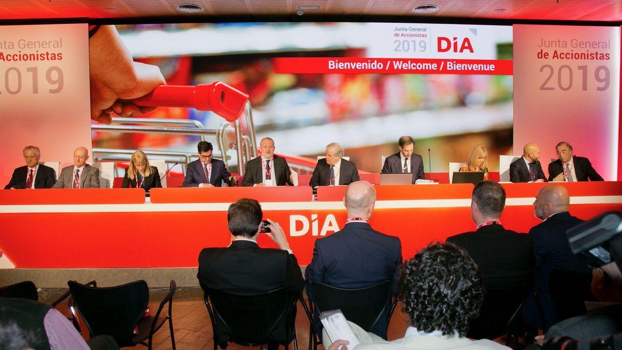 Adriana Domínguez presenta las cuentas de la compañía textil Adolfo Domínguez.Liberbank Oviedo