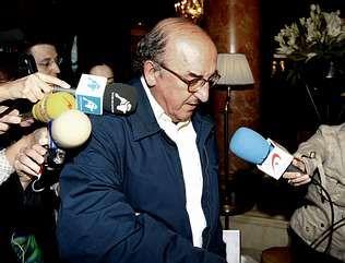 Jaume Roures, presidente de Mediapro, en un foro político celebrado anteayer