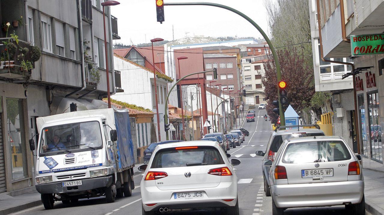 Imagen de archivo de la calle Miguel Rodríguez Bautista, en Ribeira