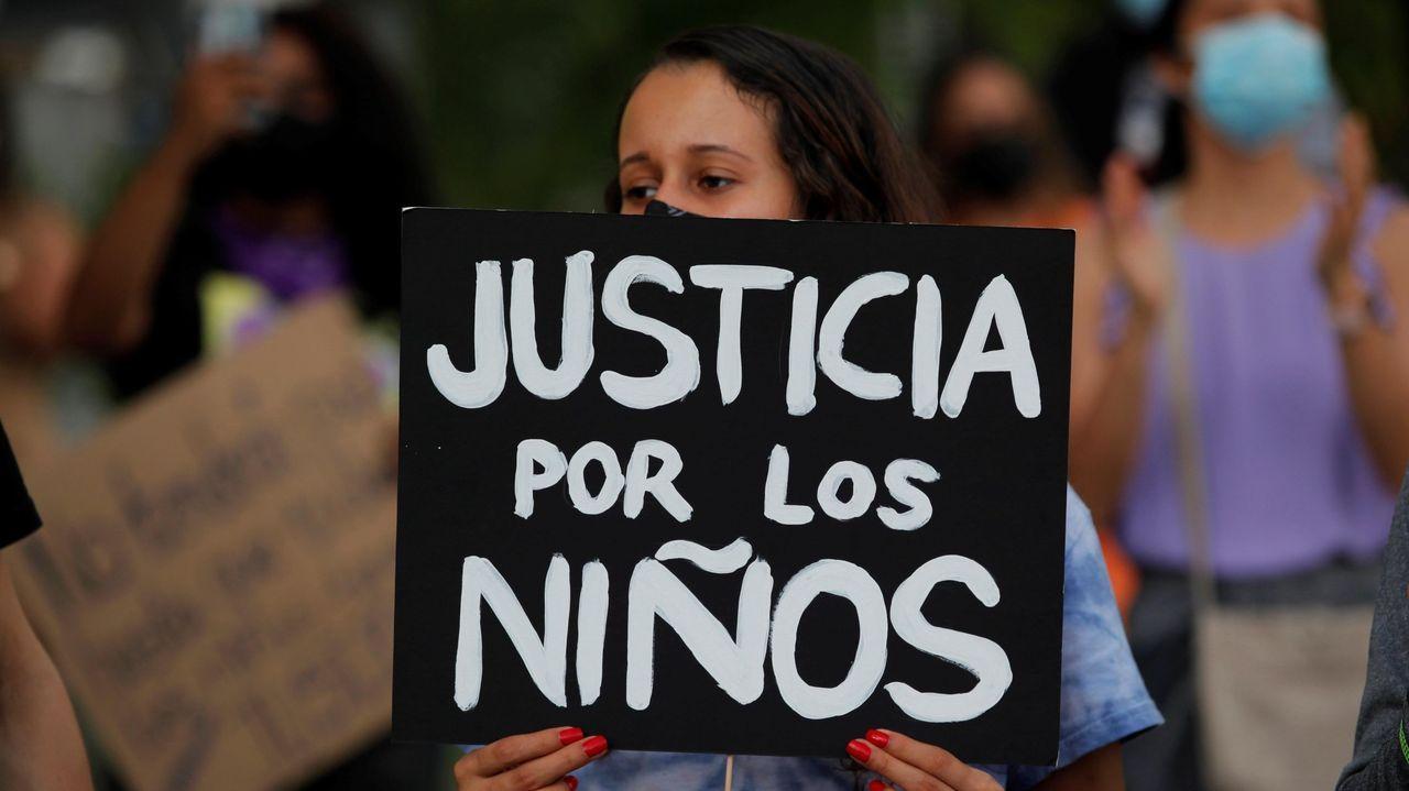 Protestas en Panamá por los abusos a niños