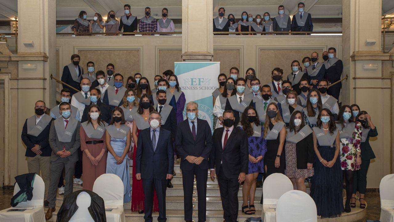Un total de 150 alumnos de la EF Business School celebraron su graduación en el hotel Finisterre