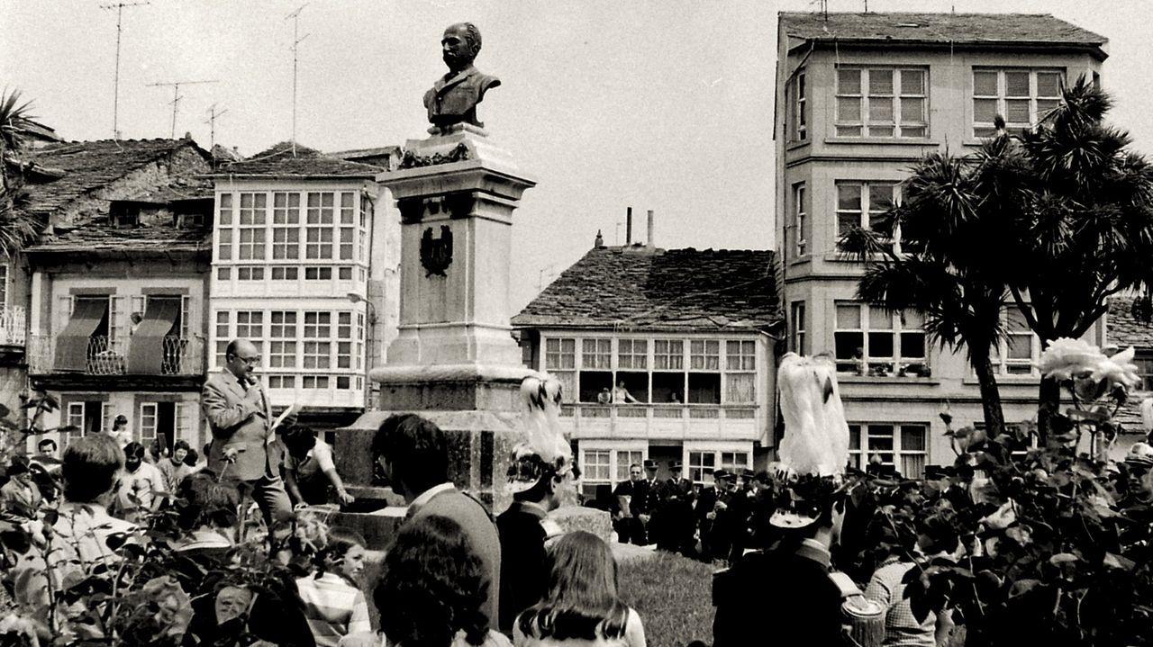 Homenaje a Juan Montes en el San Roque de 1983