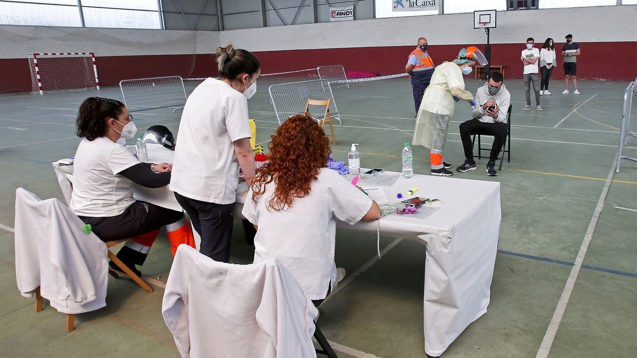 Esta tarde concluye en Moraña el cribado con PCR que se está haciendo para casi mil vecinos de dos franjas de edad