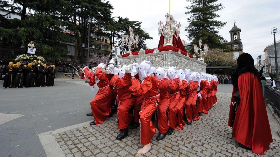 Procesión del Santo Encuentro en Ferrol