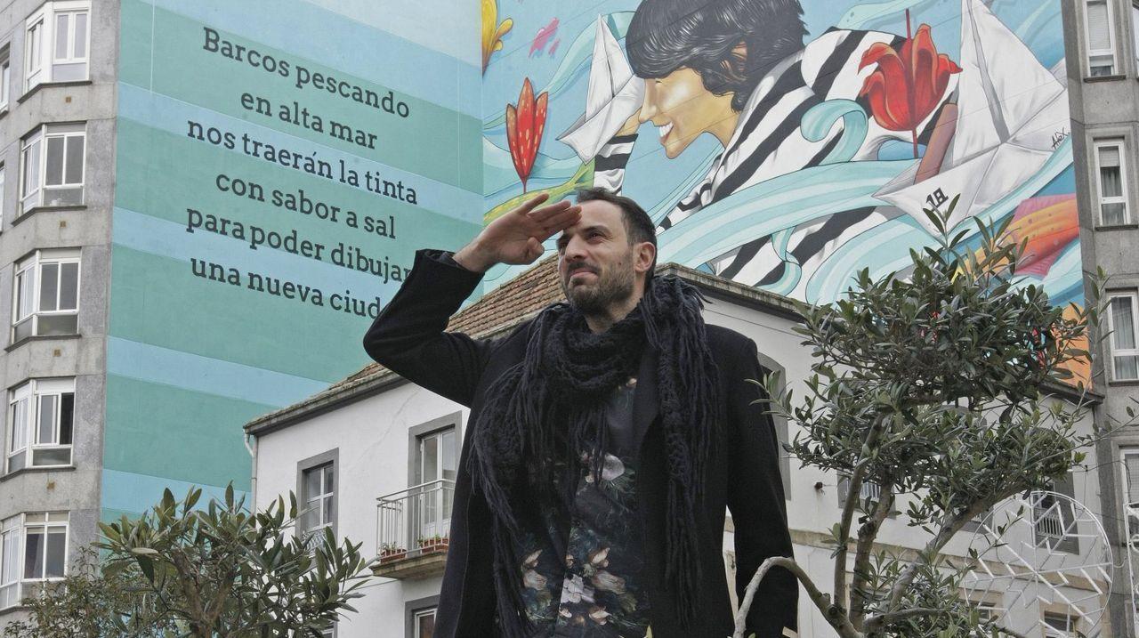 Maristas se empapa de escritoras gallegas.«Os enigmas tamén nos permiten lernos», di Alba Cid