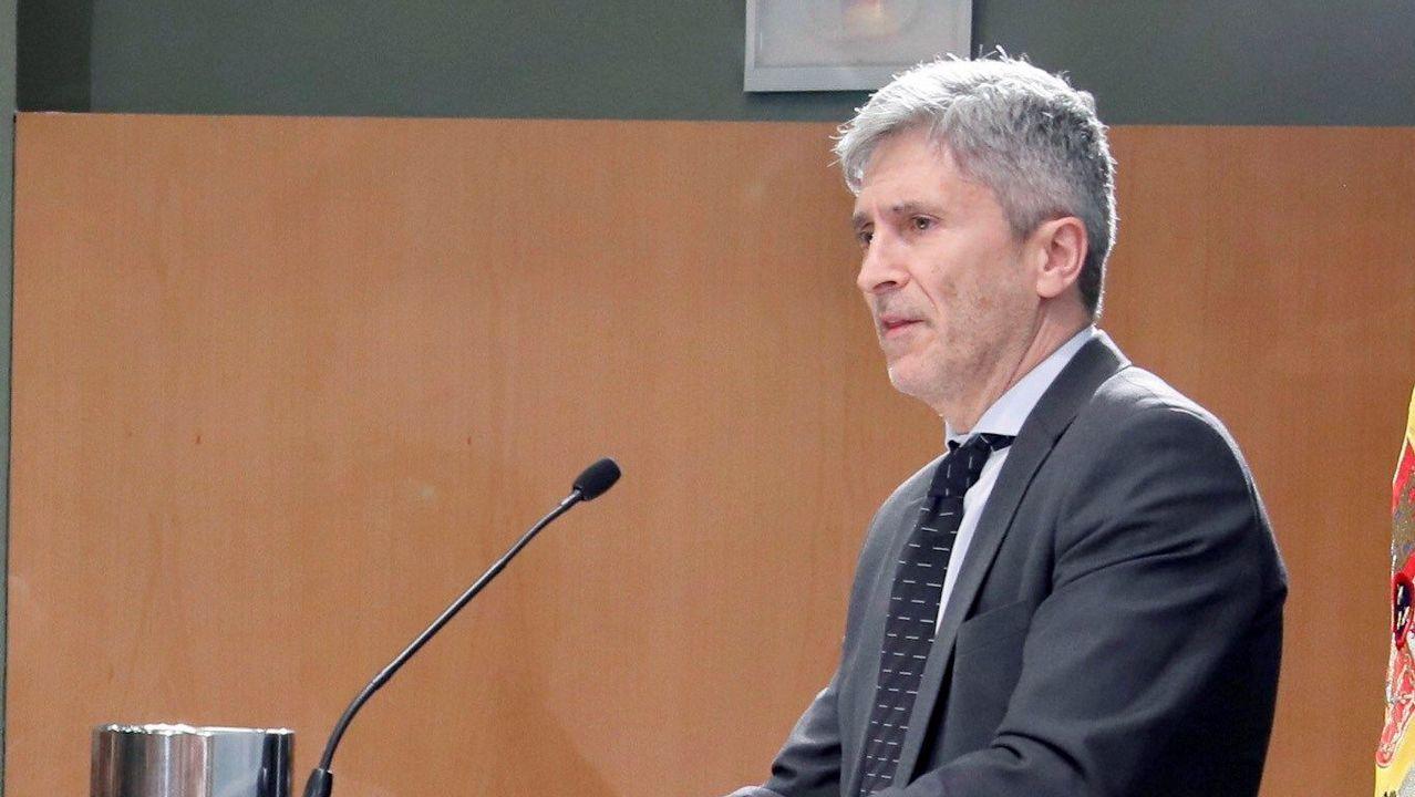 El ministro del Interior, Fernando Grande-Marlakca