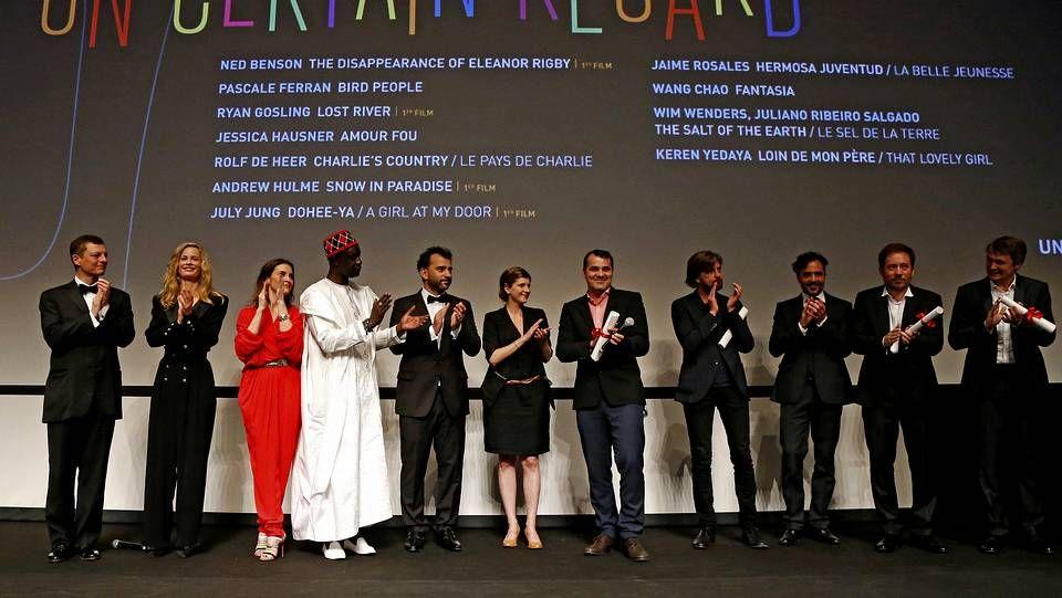 Décima jornada del Festival de Cannes.Lindsay Lohan, durante en su prestación de servicio comunitario.