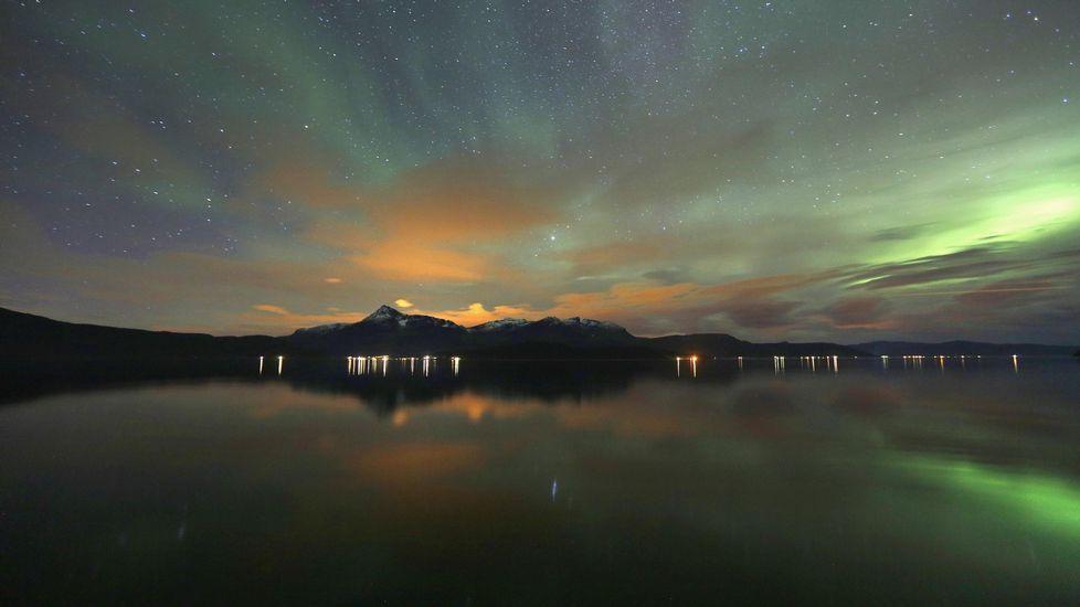 Mestervik, localidad próxima al círculo polar ártico.