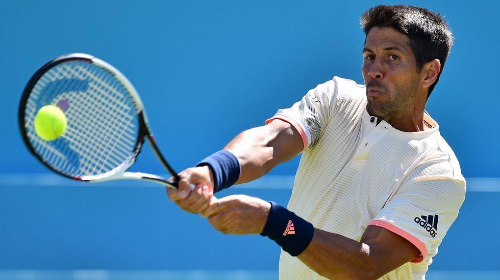 Nadal: «Wimbledon es el torneo al que acudo con menos preparación».El tenista español Pablo Carreño durante el partido de la primera ronda del torneo de Wimbledon que se disputa en Londres, Reino Unido.