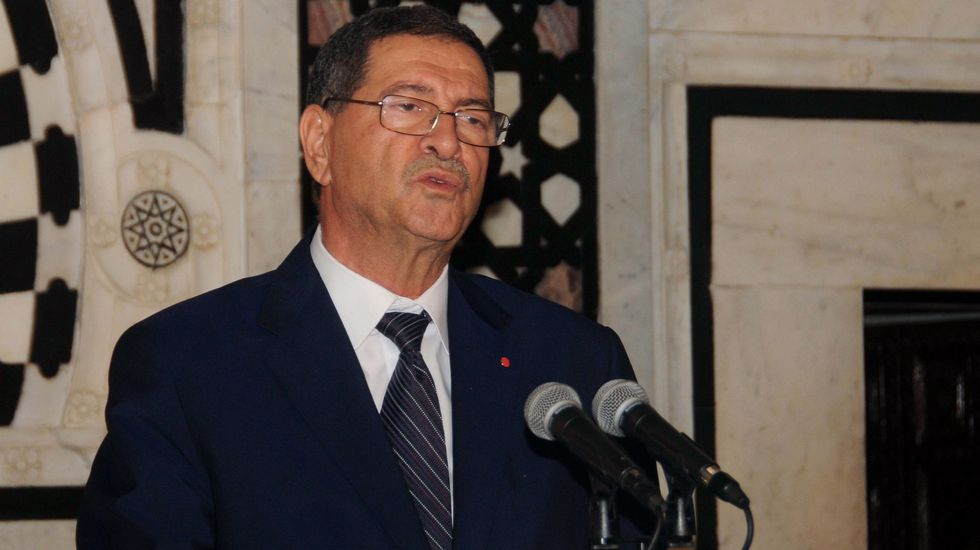 El terrorista fue grabado entrando en la playa en Túnez.El ministro del Interior tunecino, Habib Essid