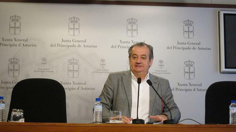 Obras en la variante de Pajares.Nicanor García
