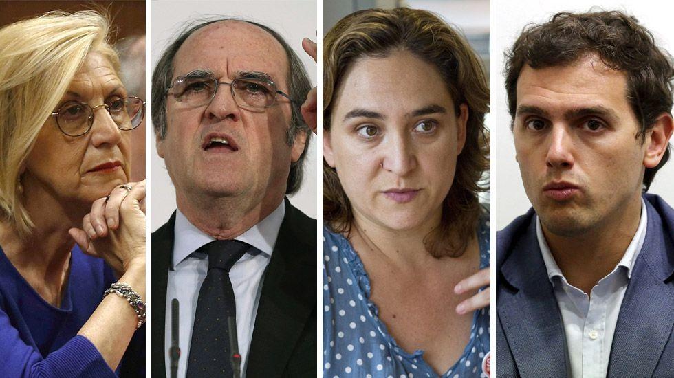 «No presentaré mi candidatura para el Consejo de Dirección».Feijoo, ayer, en Madrid, donde presentó a Monago.