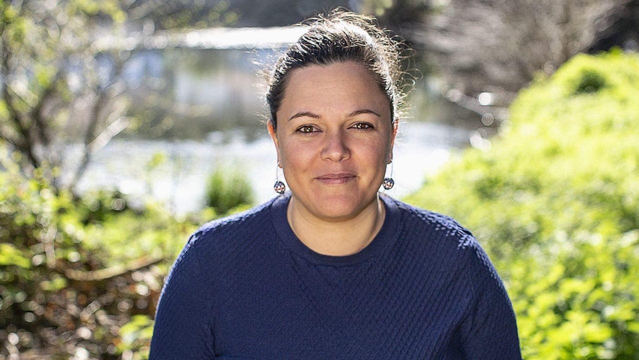 Olaia Ledo, cabeza de lista del BNG a la alcaldía de Narón