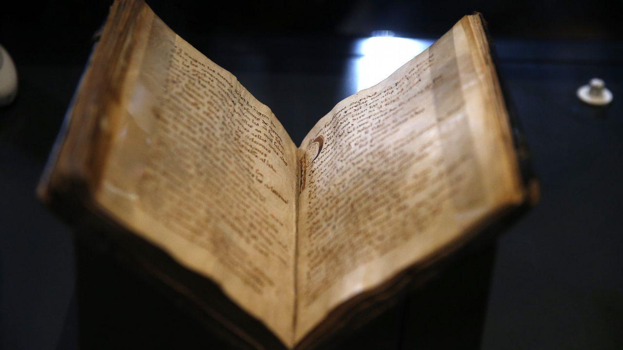 Día Internacional das Bibliotecas.El Códice del Cantar del Mío Cid, uno de los grandes tesoros de la Biblioteca Nacional de España