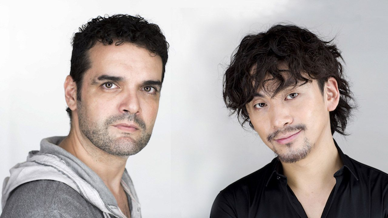 Los directores Roberto F Canuto y Xiaoxi Xu.
